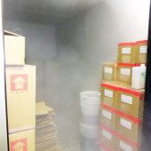 The inside of Freezer
