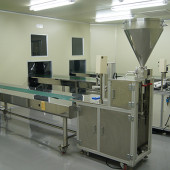 Filling packing line